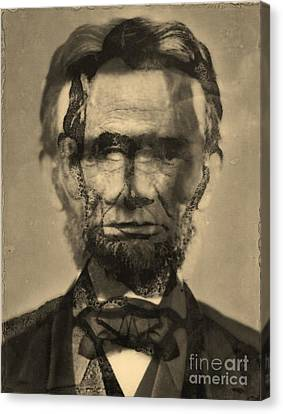 Abraham Lincoln Canvas Print by Michael Kulick