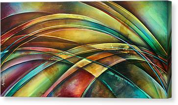 ' Abstract ' L1 Canvas Print by Michael Lang