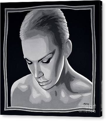 Annie Lennox Canvas Print
