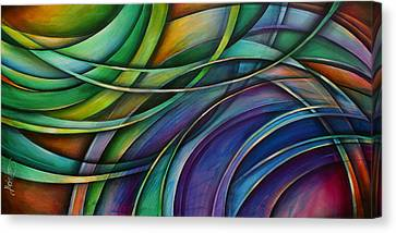 ' Approach' Canvas Print by Michael Lang
