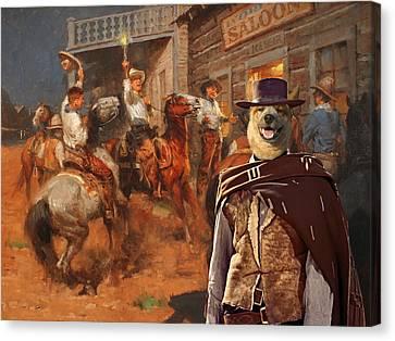 Australian Cattle Dog Art Canvas Print Canvas Print