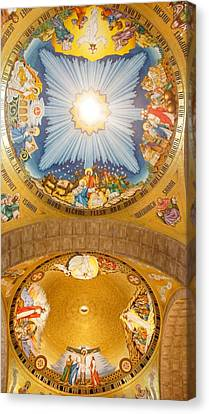 Basilica Of The National Shrine Canvas Print by Art Spectrum
