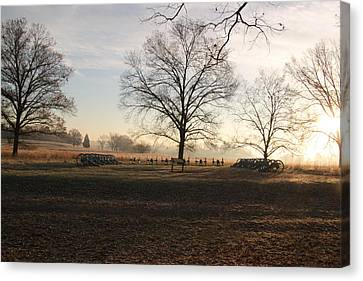 Battery Park Valley Forge National Park Canvas Print