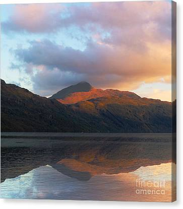 Ben Lomond From Inveruglas Canvas Print