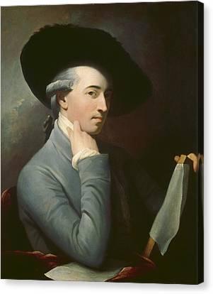 Benjamin West Canvas Print by Benjamin West