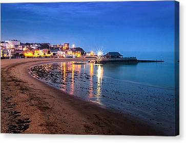Broadstairs At Twilight.  Canvas Print