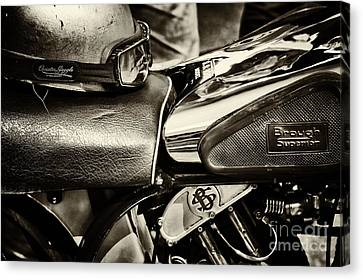 Tim Canvas Print -  Brough Superior Ss100 by Tim Gainey
