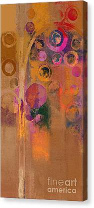 Bubble Tree - Lw91 Canvas Print by Variance Collections