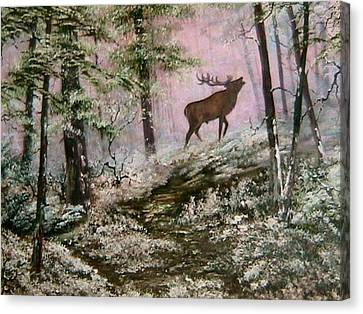 Cannock Chase Canvas Print -  Call Of The Wild by Jean Walker