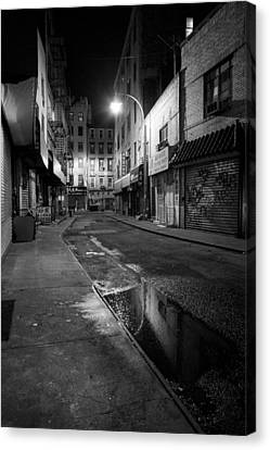 Chinatown New York City - Doyers Street Canvas Print by Gary Heller