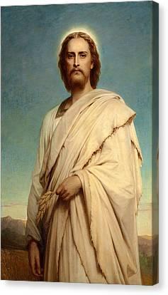 Christ Of The Cornfield Canvas Print