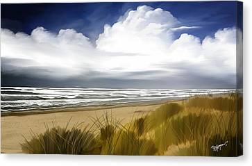 Coastal Breeze Canvas Print by Anthony Fishburne