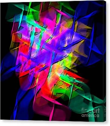 Color Screamers  Canvas Print
