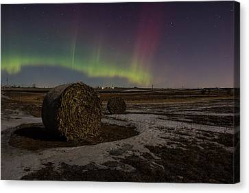 Dakota Aurora Canvas Print