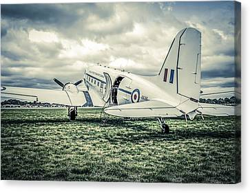 Transportion Canvas Print -  Dc-3 Or C-47 by Chris Smith