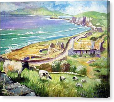 Dingle Co Kerry Ireland Canvas Print by Paul Weerasekera