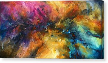 Random Shape Canvas Print - ' Dreamscape' by Michael Lang