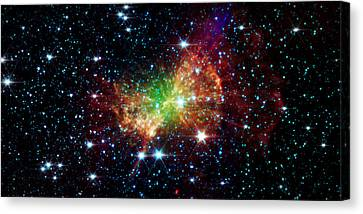 Dumbbell Nebula Canvas Print by Jennifer Rondinelli Reilly - Fine Art Photography