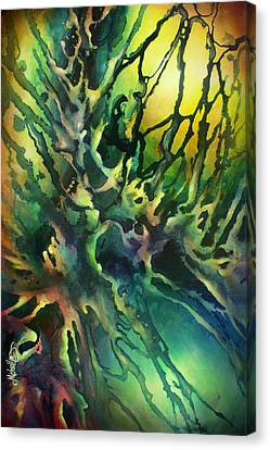 Random Shape Canvas Print - ' Earth' by Michael Lang