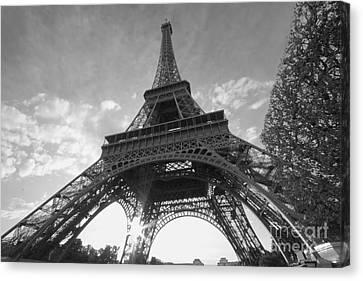 Eiffel Tower - Paris Canvas Print by Uladzimir Vitsenkou