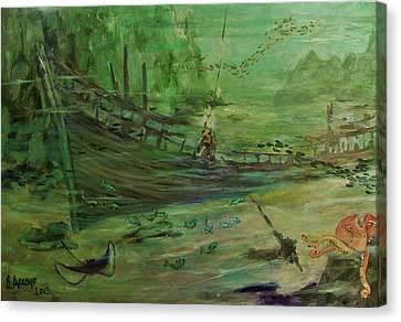 El  Explorador  1 Canvas Print
