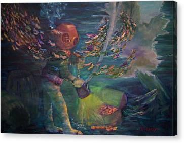 El Explorador  2 Canvas Print
