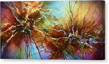 Energy Art Movement Canvas Print - ' Evolution ' by Michael Lang