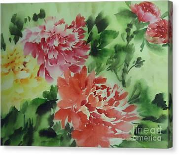 Flower 0727-1 Canvas Print