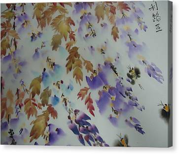 Flower0727-5 Canvas Print by Dongling Sun
