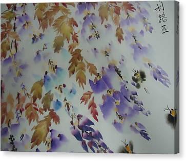 Flower0727-5 Canvas Print