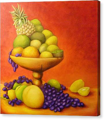 Fruitpassion Canvas Print by Lisa Carlen