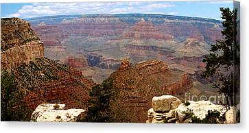 Grand Canyon Panoramic Canvas Print by The Kepharts