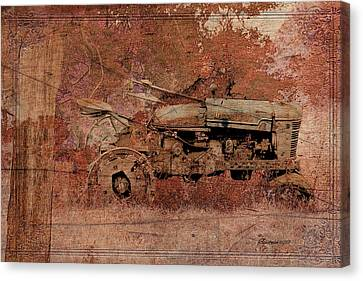 Grandpa's Old Tractor Canvas Print by EricaMaxine  Price