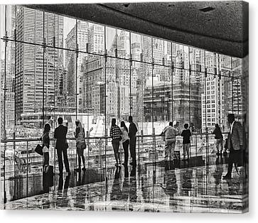 Ground Zero Canvas Print by Wayne Gill
