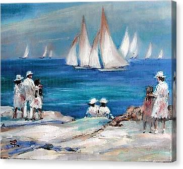 Hemmingway Regatta   Canvas Print