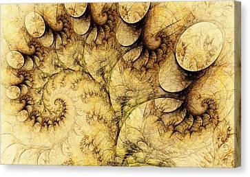 Geek Canvas Print -  Idea Of A Tree by Anastasiya Malakhova