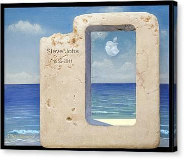 Iphone 7 Plus  Steve Jobs Spirit Canvas Print