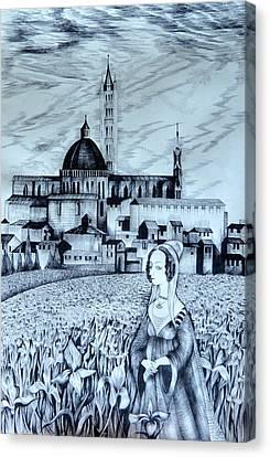 Italian Fantasies. Siena Canvas Print