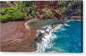 Kaihalulu Bay Canvas Print by Pierre Leclerc Photography