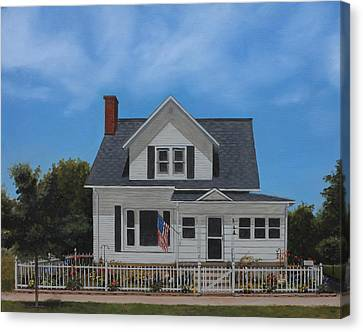 Kenroy Cottage Canvas Print by Cecilia Brendel