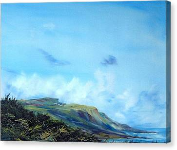 Kettleness Yorkshire  Canvas Print