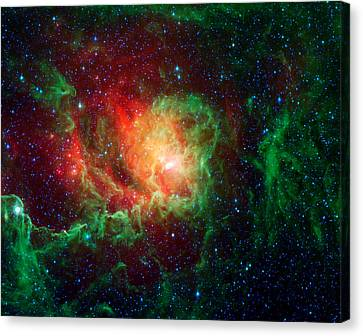 Lagoon Nebula Canvas Print by Jennifer Rondinelli Reilly - Fine Art Photography
