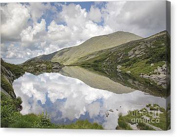 Weathered Canvas Print -  Lakes Of The Clouds - Mount Washington New Hampshire by Erin Paul Donovan