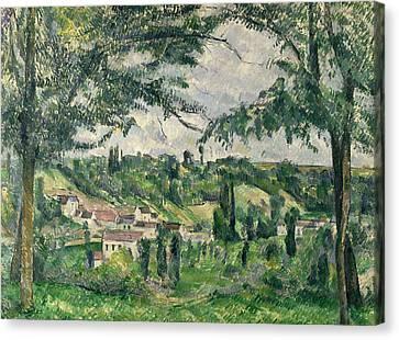 Landscape  Canvas Print by Paul Cezanne