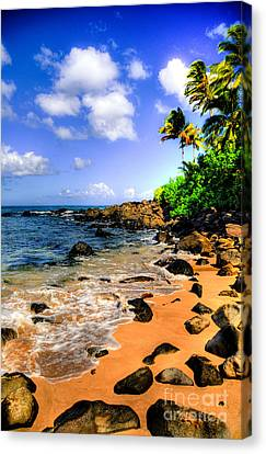 Laniakea Beach Canvas Print