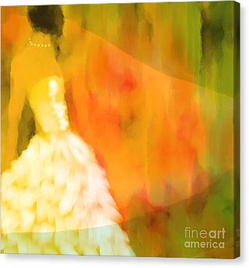 Last Dance Canvas Print by Hilda Lechuga