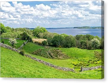Loch Coirib Canvas Print by Juergen Klust