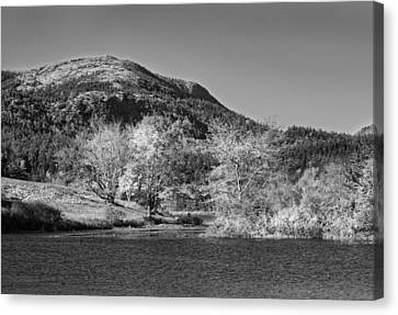 Long Pond Acadia National Park Mount Desert Island Maine Canvas Print by Keith Webber Jr