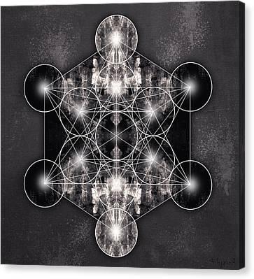 Yantra Canvas Print -  Metatron's Cube by Filippo B