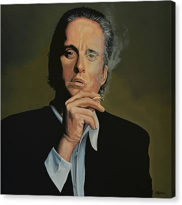 Michael Douglas Canvas Print by Paul Meijering